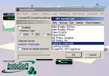 ScadaPhone with Indusoft